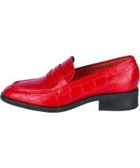 d0367d70c3 Heine Nazúvacie topánky s potlačou červená