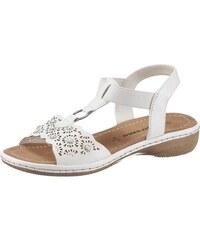 c62f0035e2f7 Supremo Páskové sandále biela