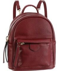 fbe7ae4d4f Laura Scott Městský batoh vínově červená