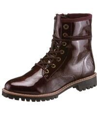 b2680250b0 Oliver RED LABEL Šnurovacie topánky bordová