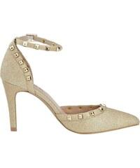 aab3c6c046c4 Zlaté Dámske topánky Na ihle