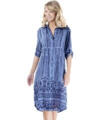 912bdae15734 Iconique Dámské plážové šaty Giada modrá