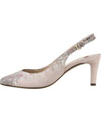 cf7f127b73 Ružové dámske uzatvorené sandále na vysokom podpätku značky Hogl