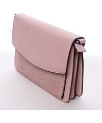 c0472edec1 Elegantná a luxusná ružová crossbody kabelka - Silvia Rosa Sheyla ružová
