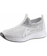 6aa469be6000 Rieker Nazúvacie topánky biela-strieborná