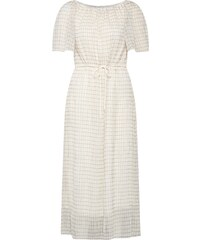 9bd7b04119 Calvin Klein Ruha 'OHIO CHK LONG PRAIRIE DRESS LS' Bézs