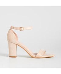 ce3ee571a5 Sinsay - Sandale cu toc - Roz