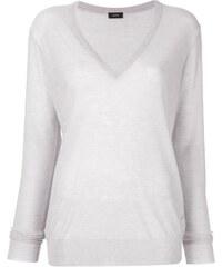 54193a515740 Joseph knit semi-sheer sweater - Silver