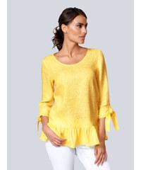 000930ea05f5 Žlté Dámske blúzky a košele s dlhým rukávom