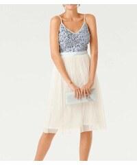 d70350864c25 Ashley Brooke Koktejlové šaty s tylovou sukňou