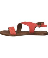 adb688ebc8c1 s.Oliver Zlato-červené sandále 5-28136 - Glami.sk