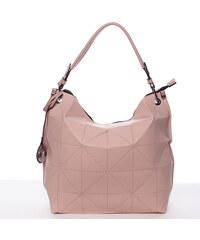 822f8e20da Růžová trendy dámská kabelka Mc Mary Chanel - Glami.cz