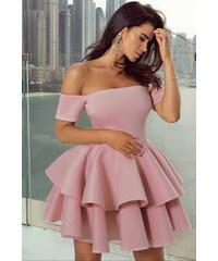 6870732cf7f6 Ružové Šaty bez rukávov