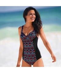 381cce21b Blancheporte Jednodielne tvarujúce plavky Rusio, s kosticami viacfarebná,  koš.B