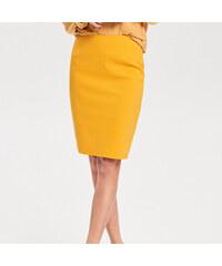 481af0733de1 Reserved - Puzdrová sukňa so zipsom - Oranžová