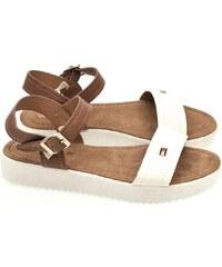 a18a0f26c1c7 COMER Dámske biele sandále HILF 36