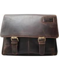 7170421696 Kožená taška na rameno LandLeder 435-25