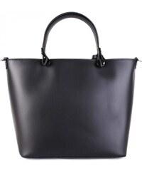 a35ad6e7a2 Talianske kožené kabelky luxusné do ruky Merana čierne
