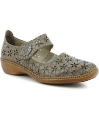 cb55ee183794 Rieker női bőr félcipő
