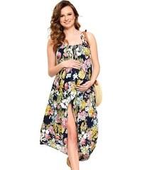 5c169b155 Tmavě modré, letní šaty s kulatým výstřihem | 420 kousků na jednom ...