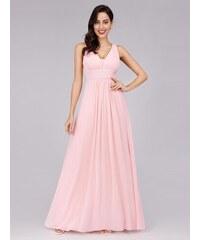 9c416ea8fc74 Plesové šaty elegantní jemně růžové Ever Pretty 8110