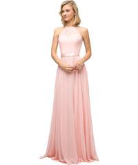 36b68fdcd73e Cinderella Růžové společenské šaty na svatbu