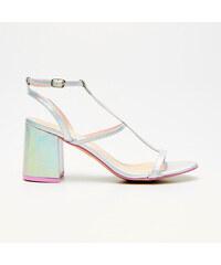 5890d50bf215 Cropp - Sandále na podpätku - Viacfarebná