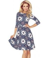 bba8779edd Dámske šaty so vzorom Madison - tmavo modré 49-17-Woman