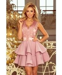 89b1c9181272 Jedinečné dámske šaty Vanessa - ružové 200-5-Woman
