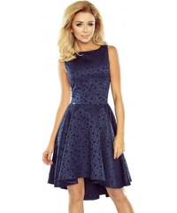 f1aaafdf7342 Nádherné dámske šaty Sara - tmavo modré 175-3-Woman