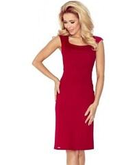 0c776ff84e00 Přiléhavé dámské šaty Tiffany - bordové 53-31-Woman