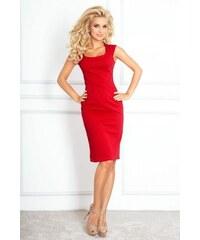 68f289ded419 Přiléhavé dámské šaty Tiffany NEW - červené 53-17A-Woman