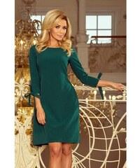 601911771920 Pútavé dámske šaty Leah - zelené 195-1-Woman