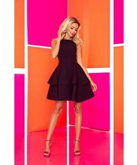 43dc20bb3c04 Šaty s vrstvenou sukňou Nicolina - čierne 169-3-Woman