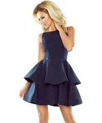 3a5e18041228 Šaty s vrstvenou sukňou Nicolina - tmavo modré 169-2-Woman