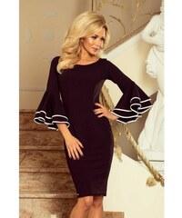 143a2871af8d Šaty so širokými rukávmi Sabrina - čierne 188-2-Woman