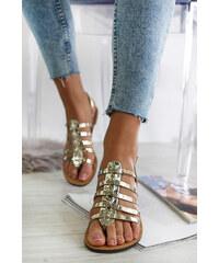 a5cf9a041e25 Moow Zlaté sandále Queenie