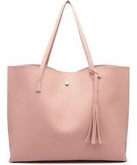 2ee8f889b0 Růžová dámská elegantní kabelka pro formáty A4 Aara