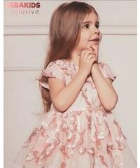 c0ef9031cb Bebakids Spoločenské šaty s kvietkami ANASTASIA
