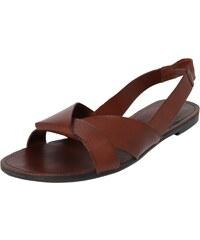 86d3245a9f21 VAGABOND SHOEMAKERS Páskové sandály koňaková
