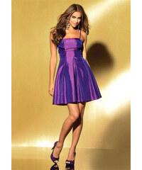 dc7f1a21d16b Taftové koktejlové korzetové šaty