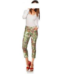 b9182f2d01a1 Kalhoty GARDEUR s květinovým potiskem