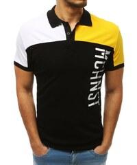 511deecbe7ce Pánské polo tričko Johny žluté - žlutá