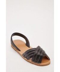 3c5c7aaa310d TAMSIN OUTLET Čierne sandálky vo vzhľade kože