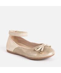 f147e0ada577 MAYORAL balerínky dievčenské 45021-066 gold