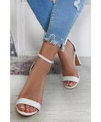 bcd999203f Ideal Biele sandále Karoline
