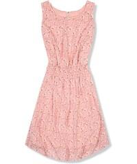0a372a990dac Butikovo Ľahké letné šaty s kvetinovou potlačou ružové