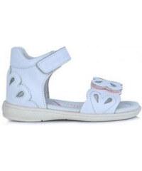 fbe1e4812c D.D.STEP dievčenské kožené sandále K03-3008M white