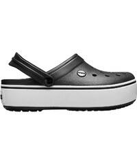 3f14297a87 Crocs čierne šľapky na platforme Crocband Platform Metallic Blooms Slide  Black. Detail produktu. -20%. Crocs Šľapky Crocband Platform Clog Black White  ...