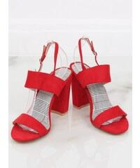 4ae7daf8e2 Červené Dámske sandále z obchodu LaraRuby.sk - Glami.sk